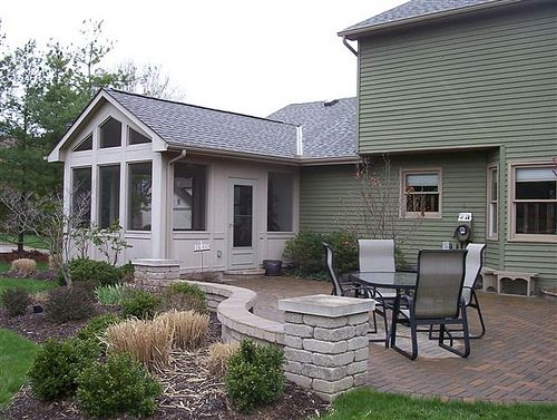 Completed Patio Masonry Completed Project Kingwood TX Photo