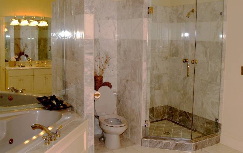 Completed Houston Texas Bathroom Remodel Project