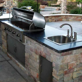 Houston Remodeling Outdoor Kitchen Project