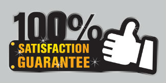 Masonry Houston 100% Satisfaction Guarantee Logo
