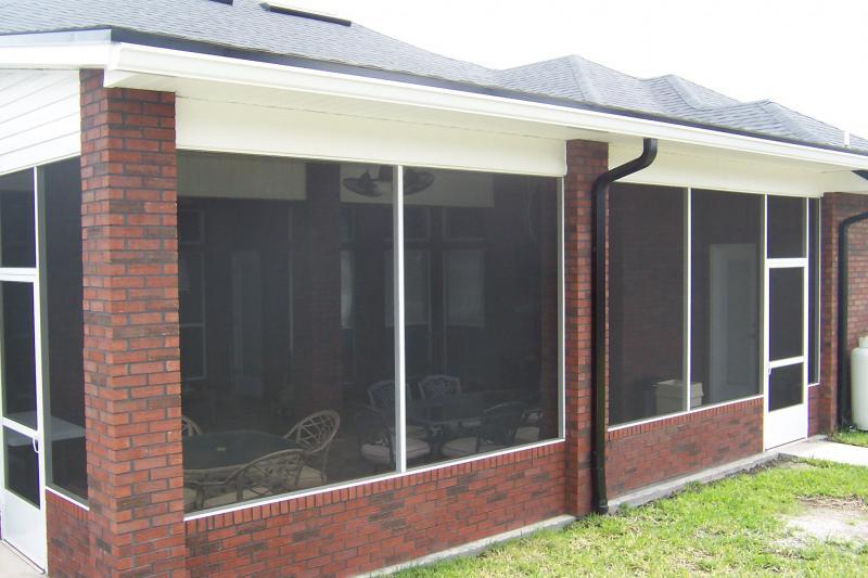 Houston Screened Porch Project Aaa Masonry And Home
