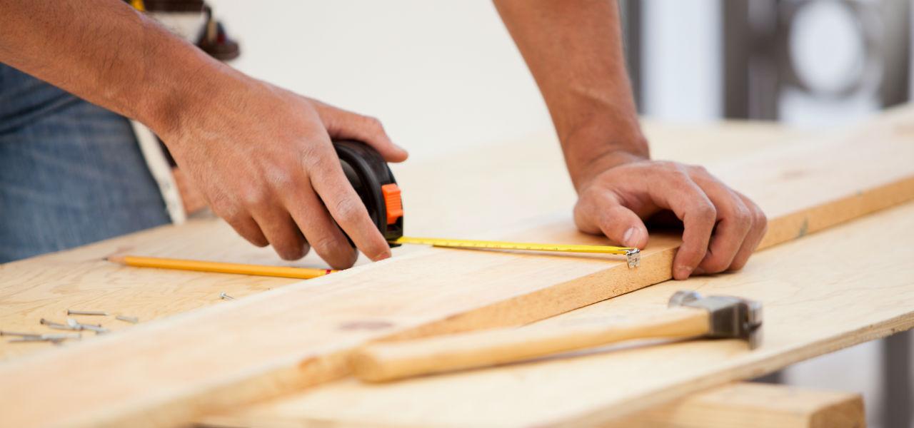 Home repair & remodeling pro working